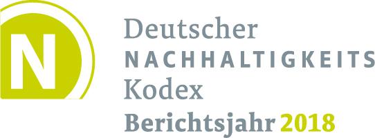 Angerstein Entsprechenserklärung zum Deutschen Nachhaltigkeits-Kodex (DNK) 2018