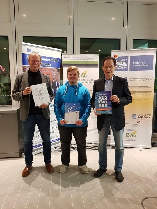 Tobias Eilers - ErasmusPlus-Auszeichnungsveranstaltung 2019